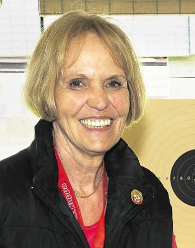 Gold und Silber holte die Astheimer Schützin Anna Maria Wittmann bei den deutschen Meisterschaften der Senioren. ArchivFoto: Wabnitz