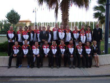 Deutsches National Team Granada 2014 (Foto Gerhard Lang)